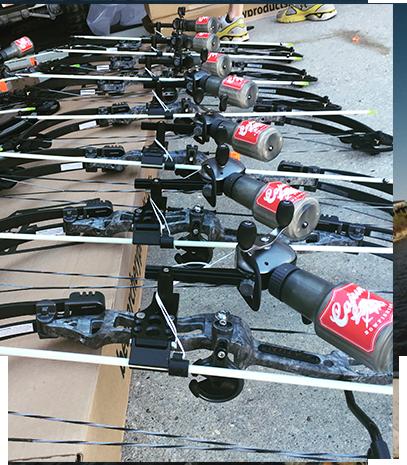 Louisiana bowfishing charters equipment for Bow fishing gear